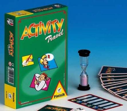 Настольная игра: Активити компактная (Activity Travel), 55 карточек - Piatnik