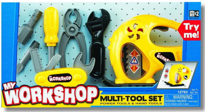 Игровой набор Инструменты с электролобзиком - Keenway
