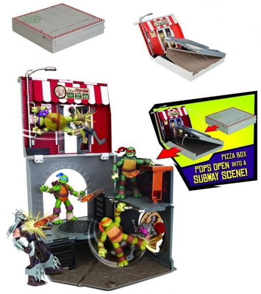 Черепашки ниндзя: Игровой набор Аллея анчоусов - Playmates toys