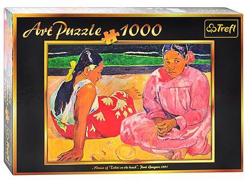 Пазл: Гоген. Таитянские женщины на пляже, 1000 элементов – Trefl