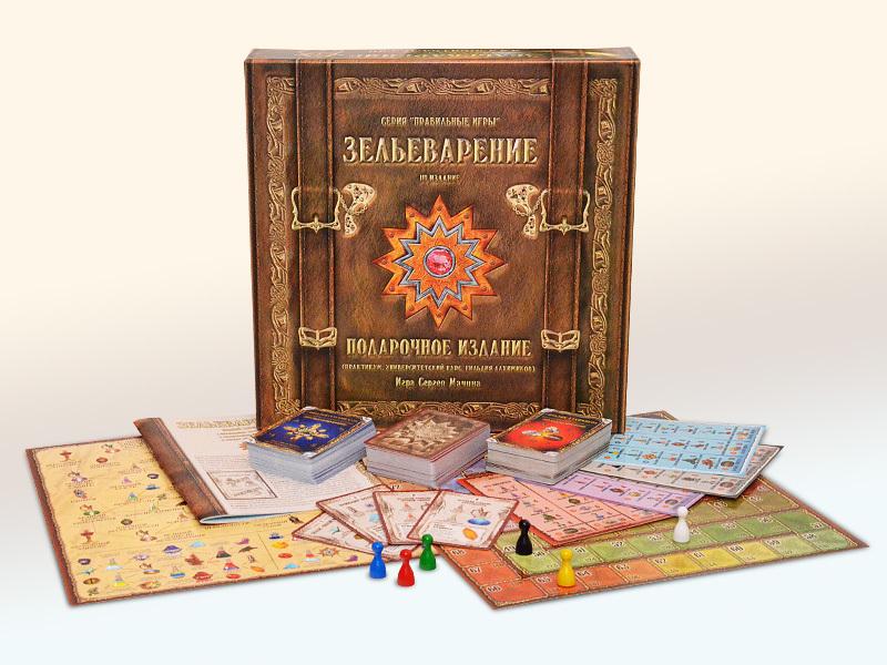 Настольная игра: Зельеварение. Подарочный набор III издание  - Правильные игры