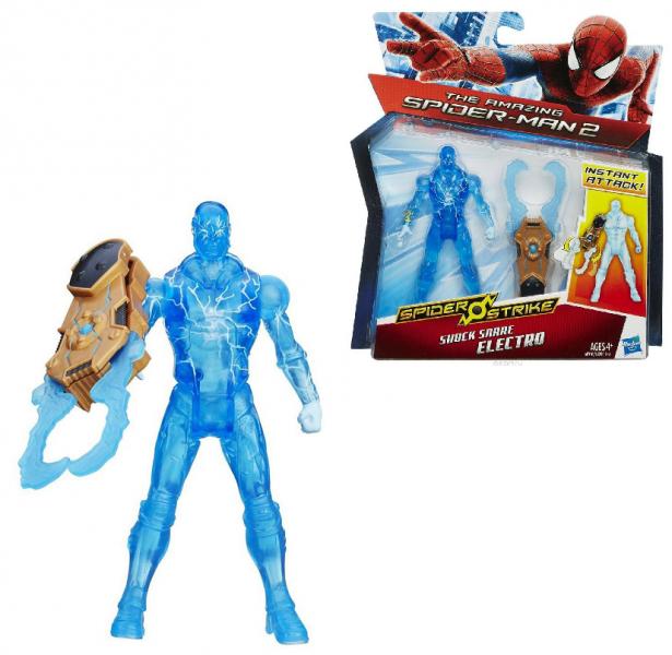 Spiderman - Фигурка Электро 9,5 см с клешнями - Hasbro