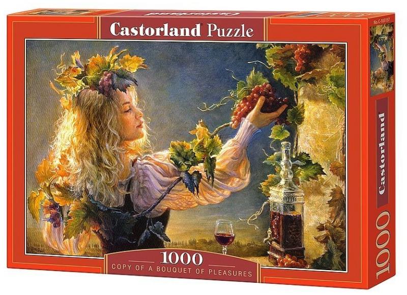 Пазл: Виноградная лоза, 1000 элементов - Castorland