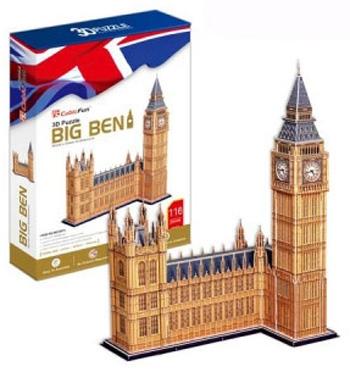 3D пазл: Биг Бен, огромный - Cubic Fun