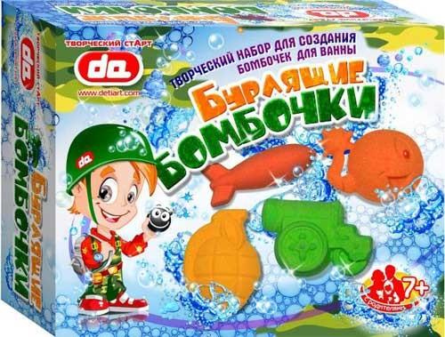 Бомбочки для ванны для детей