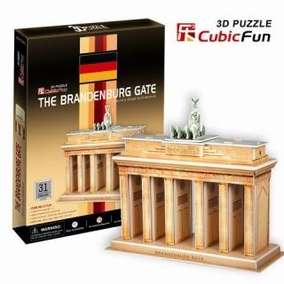 3D пазл: Бранденбургские ворота, средний - CubicFun