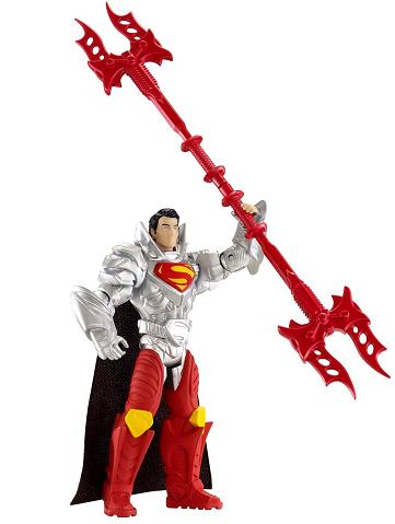 Супермен: Человек из стали Фигурка с аксессуарами Combat – Mattel