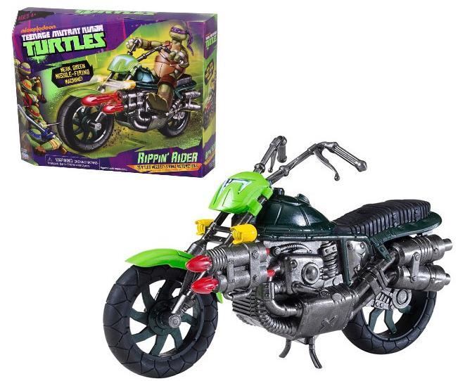 Черепашки Ниндзя: Боевой мотоцикл, без фигурки - Playmates Toys