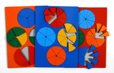 Развивающая Игра Никитина: Дроби Комплект, стандарт - ОКСВА