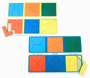 Развивающая Игра Никитина: Собери квадрат 2 категория, Эконом – ОКСВА