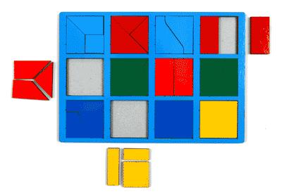 Развивающая Игра Никитина: Собери квадрат 1 категория, Стандарт – ОКСВА