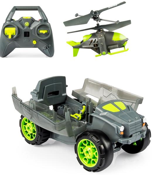 AIR Hogs: Бронемашина с вертолетом разведчиком – Spin Master