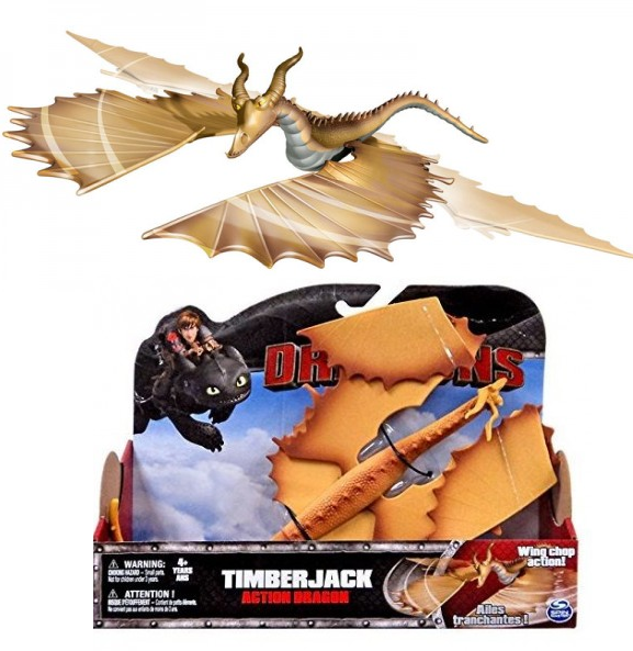 Dragons: Функциональный дракон Древоруб Timberjack - Spin Master