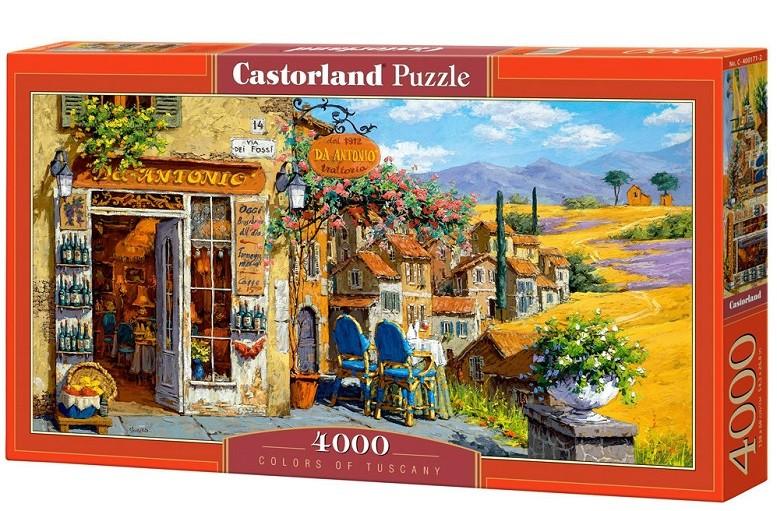 Пазл: Цвета Тосканы, 4000 элементов - Castorland