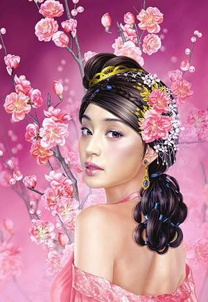 Пазл: Цветение Сакуры, 1500 элементов - Castorland