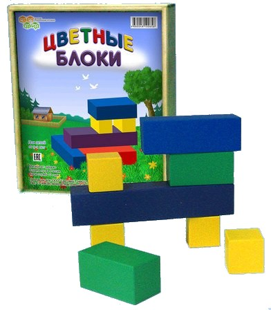 Игра развивающая: Цветные блоки - Световид
