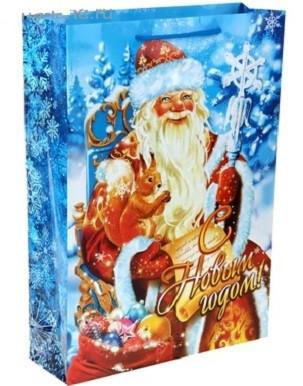 Пакет Дед Мороз 32х44,5 см