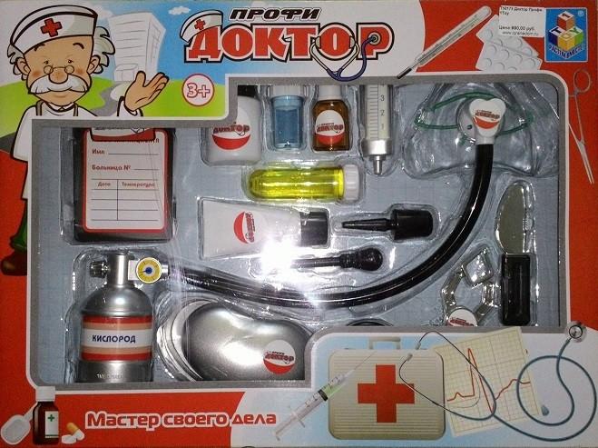 Игровой набор Юный Доктор, Профи - 1Toy