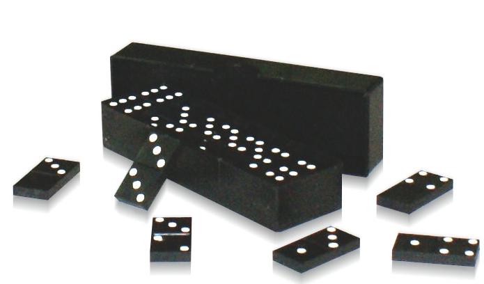Домино классическое, пластиковая коробка - Астрон