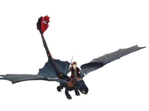 Dragons: Функциональный дракон Беззубик с вращающимся туловищем (Бочка) - Spin Master