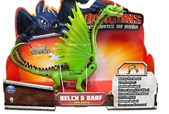 Dragons: Функциональный дракон зеленый Belch & Barf - Spin Master