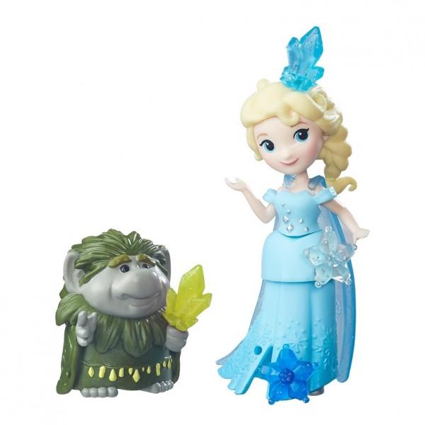 Холодное сердце: Кукла с другом. Эльза и Тролль – Hasbro