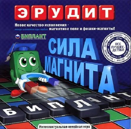 Настольная игра: Эрудит магнитный - Биплант