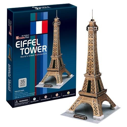 3D пазл: Эйфелева башня 1, средний - CubicFun