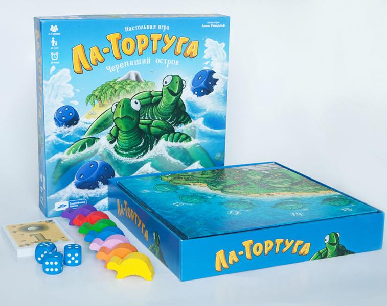 Настольная игра: Ла-Тортуга. Черепаший остров - Cosmodrom Games