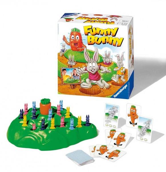 Настольная игра Выдерни морковку (Funny Bunny) - Ravensburger