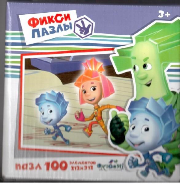Пазл Фиксики: Бегуны, 100 эл. - Origami