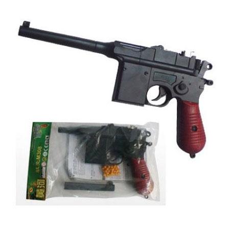 Игрушечный пистолет 308 с пульками, в пакете - Santec Toys