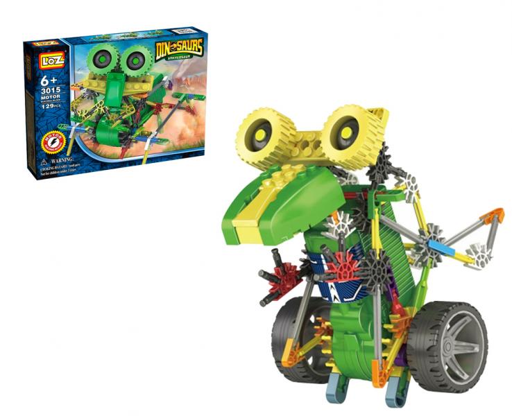Электромеханический конструктор IROBOT: серия Динозавр. Круглазавр - LOZ