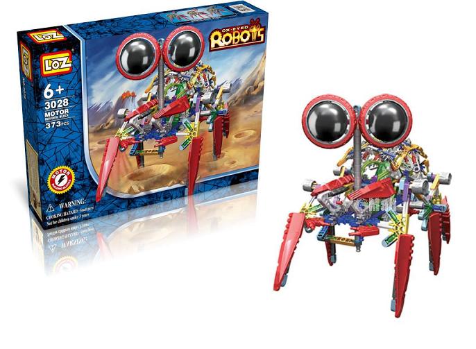 Электромеханический конструктор IROBOT: серия Роботы. Крабс - LOZ