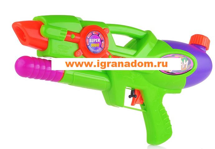 Игрушка Автомат водный 9900P 38см, в пакете - Huahai Toys