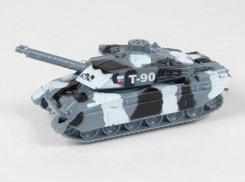 Игрушечный Танк Т-90 металлический 13 см - Технопарк