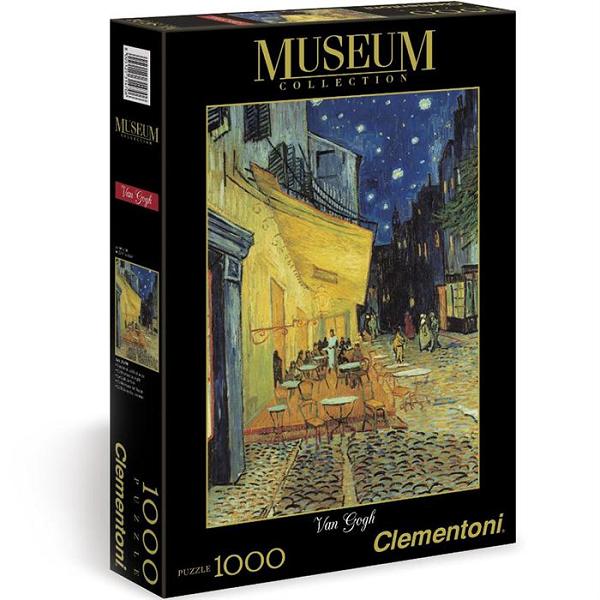 Пазл: Ночная терасса, ван Гог, 1000 элементов - Clementoni