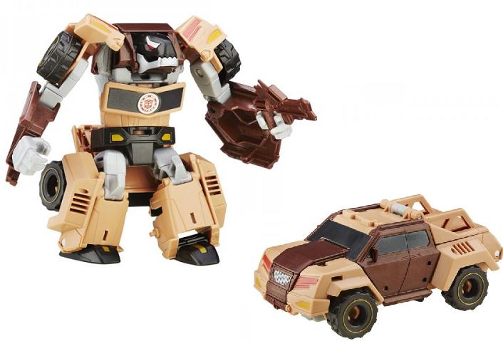 Трансформеры: Роботс-ин-Дисгайс Воины фигурка 12 см Quillfire  – Hasbro