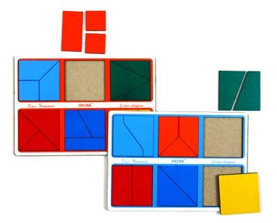Развивающая Игра Никитина: Собери квадрат 1 категория, Эконом – ОКСВА