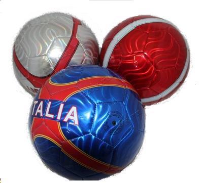 Мяч футбольный серебристый - Santec toys
