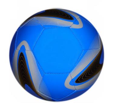 Мяч футбольный синий - Santec toys