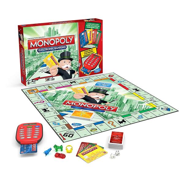 Настольная игра: Монополия с банковскими карточками (новое издание) - Hasbro