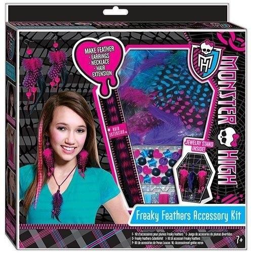 Monster High: Набор для создания бижутерии из перьев