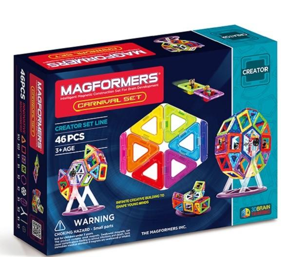 Магнитный конструктор Magfomers: Карнавал, 46 деталей