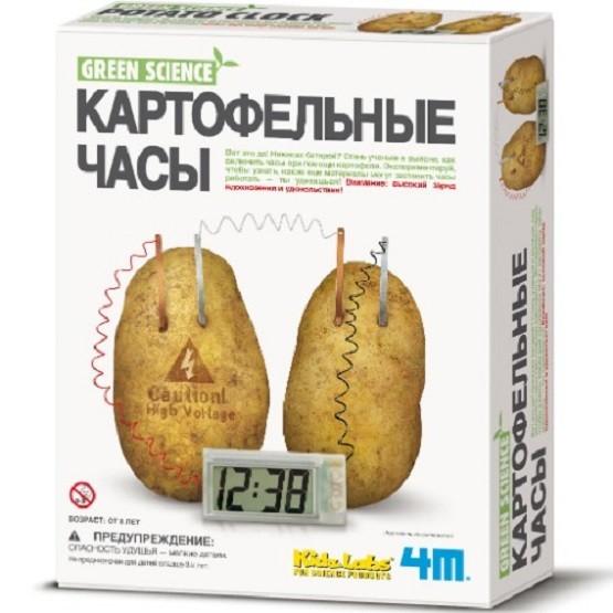 Научный конструктор: Картофельные часы - 4M