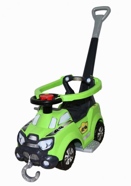 Каталка: автомобиль Sokol с ручкой, подножкой и ограждением - Полесье