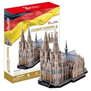3D пазл: Кёльнский собор - CubicFun