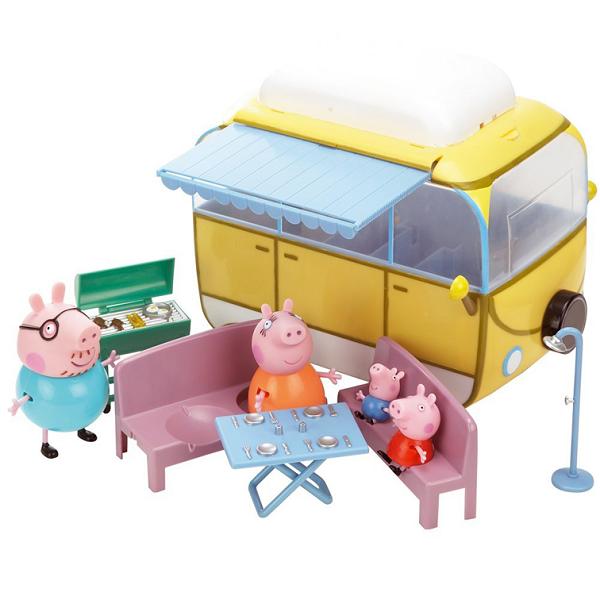 Свинка Пеппа: Игровой набор Кемпинг Пеппы - Росмэн