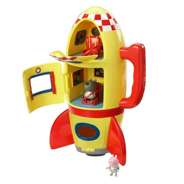 Свинка Пеппа: Игровой набор Космический корабль Пеппы - Росмэн