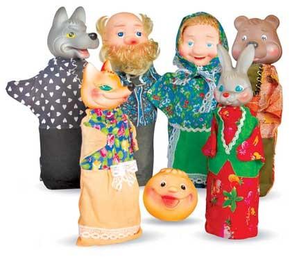 Кукольный театр: Колобок - Русский Стиль